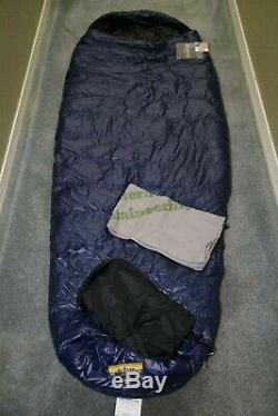 New with Tags! $510 Western Mountaineering TerraLite 25 Degree Sleeping Bag 6' LZ
