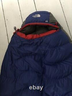 North Face Blue Kazoo Mummy Sleeping Bag Down 20F