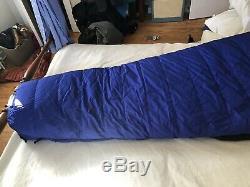 North Face Superlight 0 Deg Sleeping Bag 700+ Down NOS Microfiber