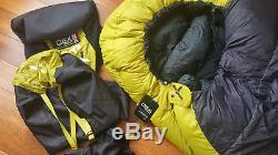 OEX Leviathan EV 900 Down 4 Season Sleeping Bag Brand New With Tags
