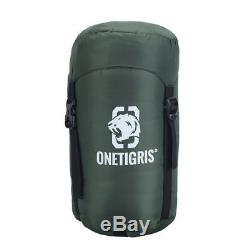 OneTigris 5°F-41°F Ultra-light Envelope Sleeping Bag with Duck Down Camping Hiking