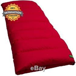 Outdoor Duck Down Egyptian Cotton Camping Sleeping Bag, Caravan, Tent