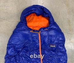 PATAGONIA 850 Down Sleeping Bag Harvest Moon Blue Reg 19 F/-7 C NWT