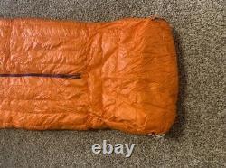 Patagonia 850 Down Sleeping Bag 19 F 32 oz Regular 60 Orange
