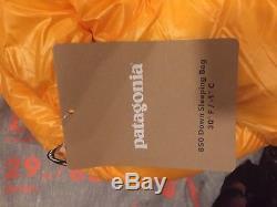 Patagonia 850 Down Sleeping Bag 30f -1c New Long
