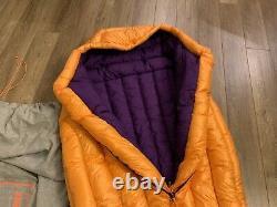 Patagonia Sleeping Bag 850 Down Goose Down Short Orange New Sold Out