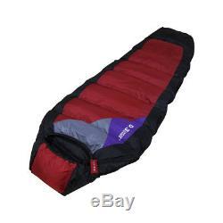 Premium Goose Down Sleeping Bag D3-Duke Camping Survival Outdoor 100% Goose Down