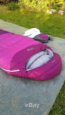 RAB Ascent 700 Women's Hydrophobic Down Sleeping Bag Immaculate