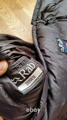 RAB Quantum Topbag Ultralight Goose Down Insulated Sleeping Bag Immaculate