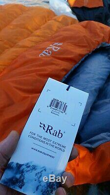 RAB Summit 400 Down Insulated Sleeping Bag BNWT