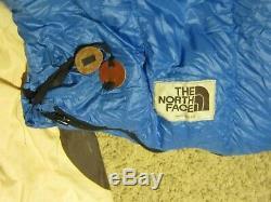 RARE The North Face Chrysalis 25 Degree Sleeping Bag 550 Goose Down BROWN LABEL