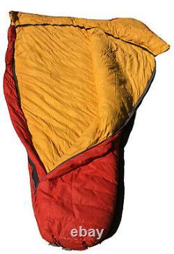 REI Co-Op Goose Down Mummy Sleeping Bag Right Zip Model Unknown READ