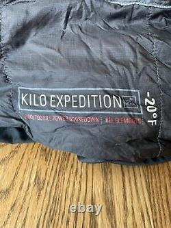 REI Co-op Kilo Expedition (-20) Sleeping Bag Regular Read Description