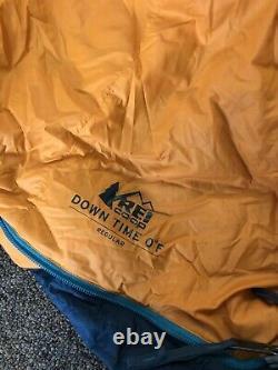 REI Down Time Zero Degree Mens Regular sleeping bag