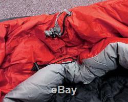 REI Elements E1 -5 Goose Down Mummy Winter Sleeping Bag Waterproof Camping