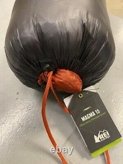 REI Magma 15 Sleeping Bag Women's Long Asphalt