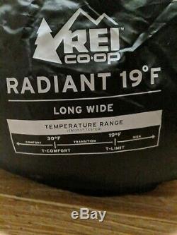 REI Radiant 20 Down Sleeping Bag