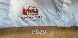 REI Womens Magma Sleeping Bag Pertex Quantum 850 Goose Down Ultralight 29° Reg