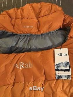 Rab Ascent 300 Sleeping Bag Ember Regular / Left Zip 650 Down