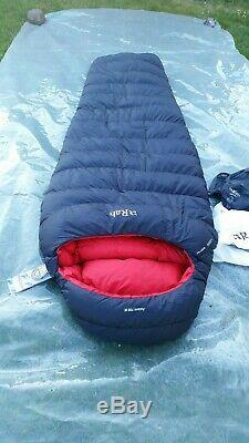 Rab Ascent 700 Women's Down Insulated Sleeping Bag Ebony BNWT