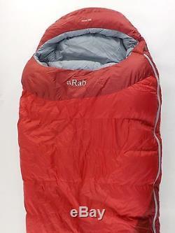 Rab Ascent 900 Sleeping Bag 0 Degree Down Reg / Left Zip /33922/