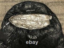 Rab Mythic Ultra 180 Ultralight Down Sleeping Bag Black Left Zip (2008171502)