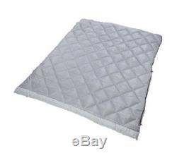 Rectangular Sleeping Bag Down Military Lightweight Tandem Sleeper Double Gray