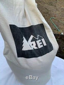 Rei Sub Kilo + 20°f Degree Down Sleeping Bag Used