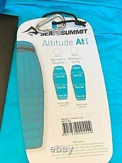 SEA TO SUMMIT ALTITUDE AT1 SLEEPING BAG (-4c) WOMENS REGULAR NEW RRP $599