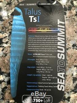 Sea To Summit Talus TsI Down Sleeping Bag 23° F, Left Zip, Regular