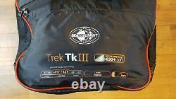 Sea to Summit Trek Tk III 650+ Loft ULTRA-DRY Down Sleeping Bag. 3/4 Season