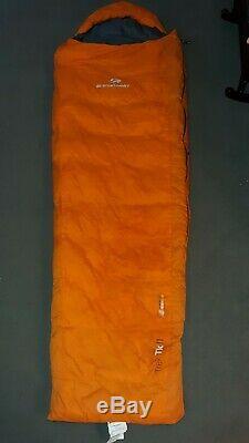 Sea to Summit Trek Tk II 650 Down Sleeping Bag Orange