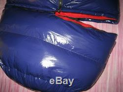 Shiny Glossy Nylon Wetlook Down Coat Winter Jacket Sleeping Bag glanznylon