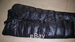Shiny gloss wetlook nylon mermaid sleeping bag down mummy sleeping bags warm new