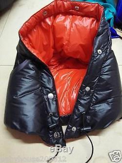 Shiny gloss wetlook nylon sleeping bag down mummysleeping bags fluffy New design