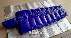 Shiny nylon Mummy down sleeping bags Mummy closed sleeping bag outdoor wet-look