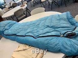 Short Mummy Marmot Sleeping Bag 900 Goose Down Fill