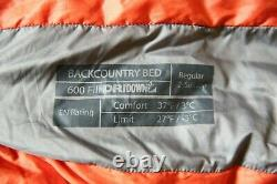 Sierra Designs Backcountry Bed 600 Down Sleeping Bag with Sea to Summit eVent