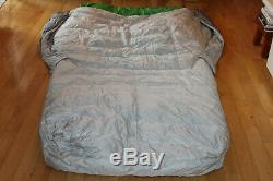 Sierra Designs Backcountry Bed Duo 600 fill down 30 F double sleeping bag