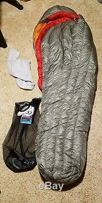 Sierra Designs Cal 13 800 Down DriDown Sleeping Bag Ultra Light Backpacking