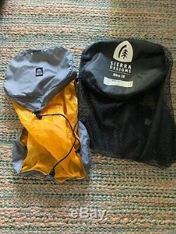 Sierra Designs Nitro UL 20 Sleeping Bag 800 DriDown Women's Regular