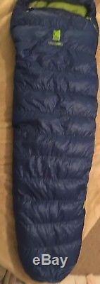 Sierra Designs Zissou 12 Degree Long Sleeping Bag 700 Fill Dri-Down 2 Lbs 8 Oz