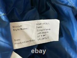 Sierra Designs Zissou 32x84 long Mummy Sleeping Bag 700 fill dri down used once