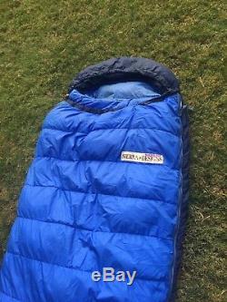 Sierra Designs xl down sleeping bag rated to minus 30