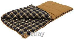 Sleeping Bag Camping Hiking Outdoor Travel Negative 25 F Canvas Cotton Flannel