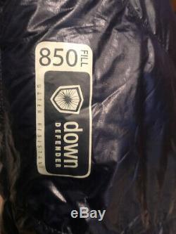 Sleeping Bag Marmot Phase 20 Long 6' 6 Down 850 Arctic Navy Blue Backpacking