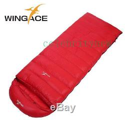 Sleeping bag winter hiking Fill goose down outdoor Camping AdultTravel Sleep Bag