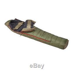 Slumberjack Lapland -20F DriDown Hybrid Sleeping Bag 550 Down
