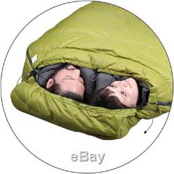 Splav Double Sleeping Bag Tandem Light Down for Two People King Size Warm