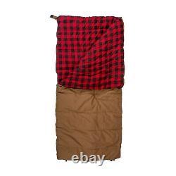 Stansport Kodiak Canvas Flannel -10 Degrees Sleeping Bag